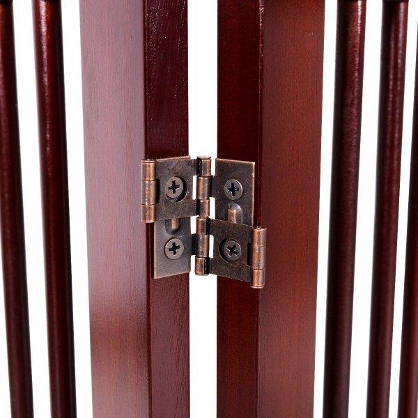 Składana osłona z bramką bezpieczeństwa