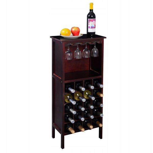 Szafka na wino na 20 butelek