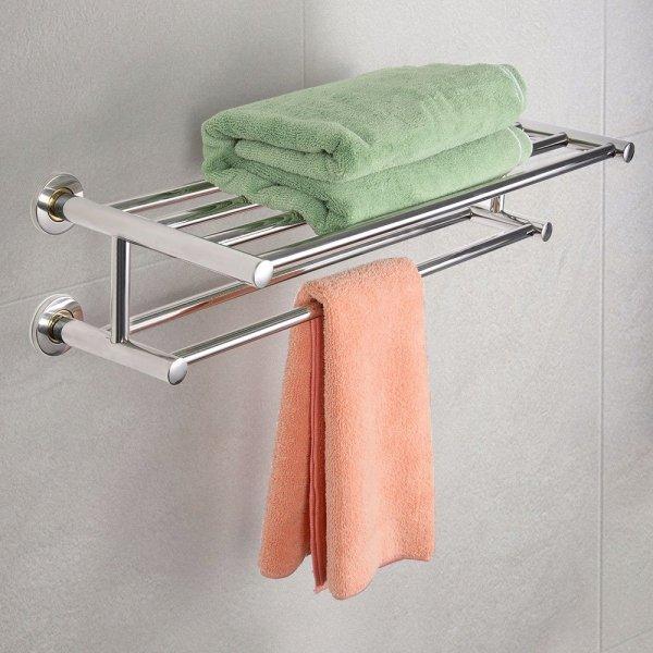 Wieszak łazienkowy na ręczniki naścienny
