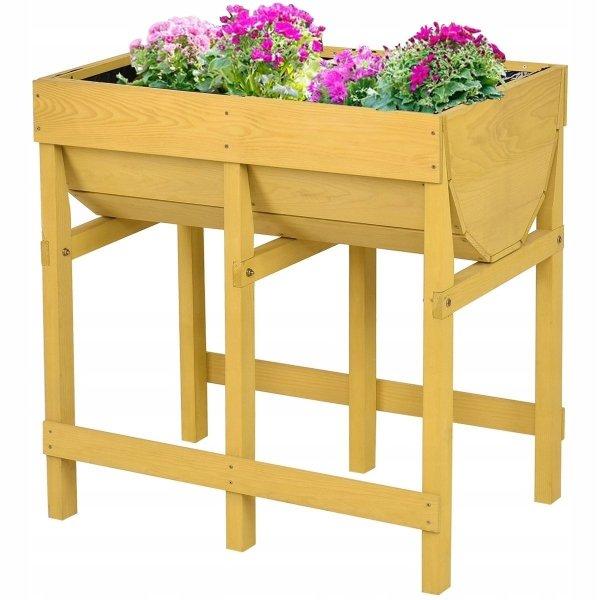 Kwietnik - skrzynia ogrodowa na kwiaty