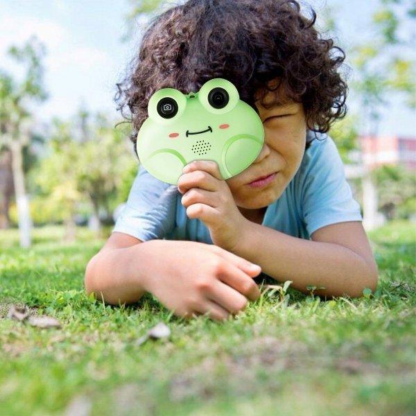 Aparat cyfrowy hd dla dzieci 16gb usb żabka
