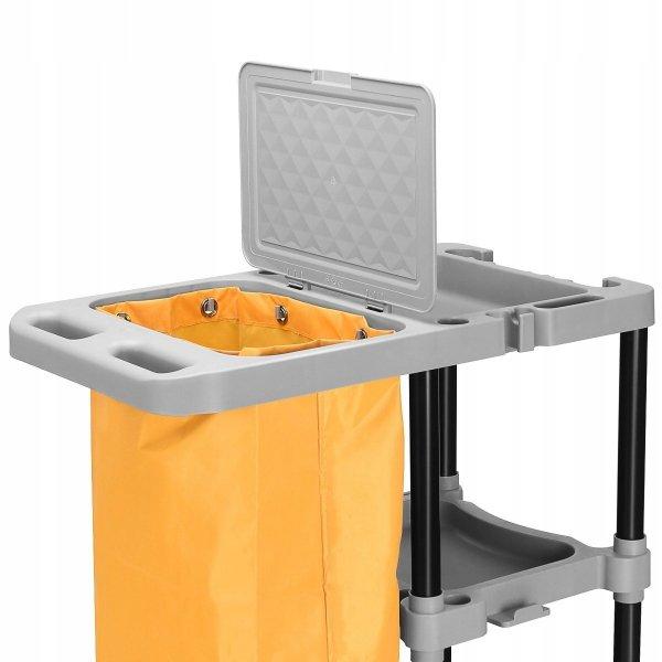 Przemysłowy wózek do sprzątania zestaw sprzątający