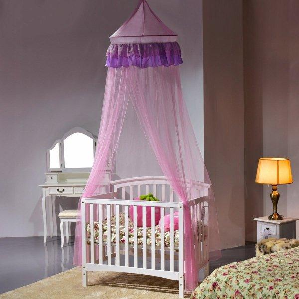 Baldachim nad łóżeczko dla dzieci