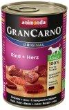 Animonda GranCarno Adult Rind Herz Wołowina + Serca puszka 400g