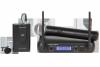 Mikrofon VHF 2 kanały WR-358LD (1 x mik. do ręki + 1x klip)