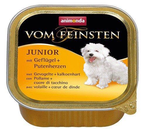 Animonda vom Feinsten Dog Junior Drób i Serca Indyka 150g