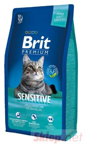 Brit Premium Cat New Sensitive 8kg