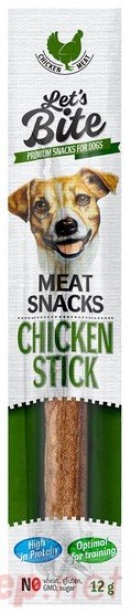 Let's Bite Meat Snacks Chicken Stick 12g