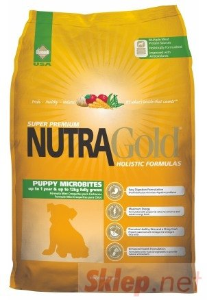 Nutra Gold Holistic Puppy Microbites Dog 3kg