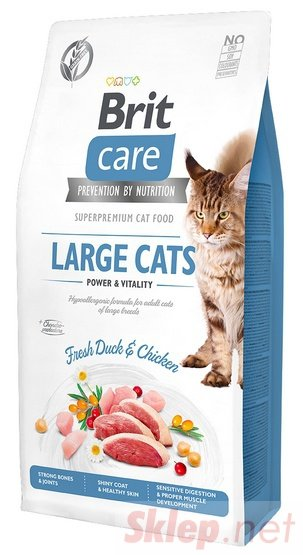 Brit Care Cat Grain Free Large Cats Power & Vitality 400g