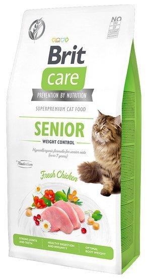 Brit Care Cat Grain Free Senior Weight Control 2kg