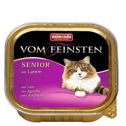 Animonda vom Feinsten Cat Senior z Jagnięciną tacka 100g