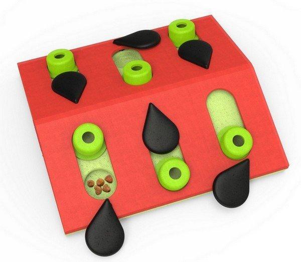 Nina Ottosson Cat Melon Madness Puzzle & Play - gra edukacyjna dla kotów
