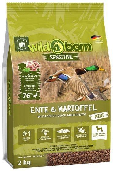 Wildborn Sensitive Ente & Kartoffel Adult Mini 2kg