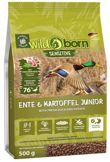 Wildborn Sensitive Ente & Kartoffel Junior 500g