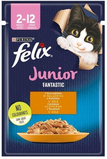 Felix Fantastic Junior Kurczak w galaretce saszetka 85g