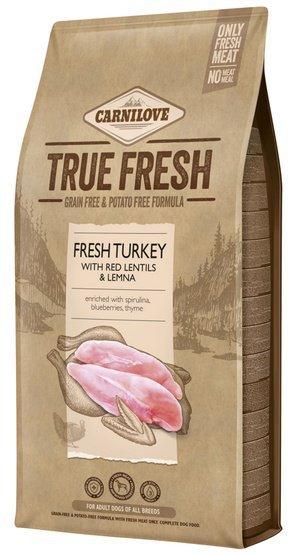 Carnilove Dog True Fresh Turkey Adult - indyk 1,4kg