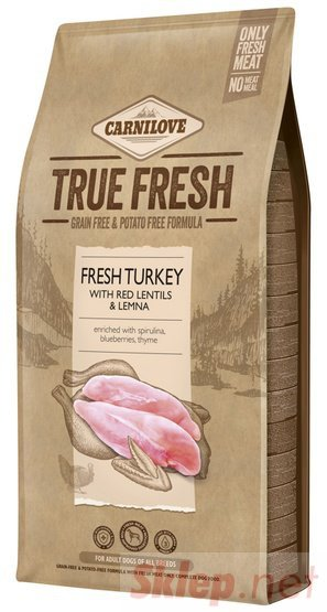 Carnilove Dog True Fresh Turkey Adult - indyk 4kg