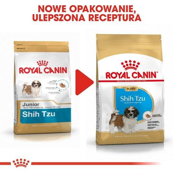 Royal Canin Shih Tzu Puppy karma sucha dla szczeniąt do 10 miesiąca, rasy shih tzu 1,5kg