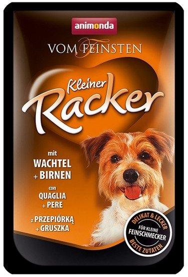 Animonda vom Feinsten Dog Kleiner Racker z przepiórką i gruszką 85g
