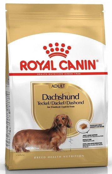Royal Canin Dachshund Adult karma sucha dla psów dorosłych rasy jamnik 1,5kg