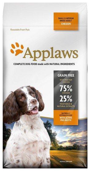 Applaws Adult Dog Small & Medium Breed Kurczak 2kg