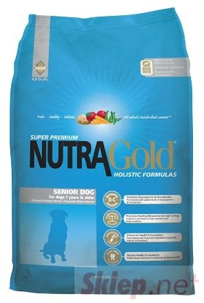 Nutra Gold Holistic Senior Dog 15kg