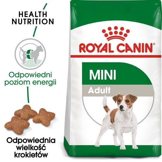 Royal Canin Mini Adult karma sucha dla psów dorosłych, ras małych 4kg