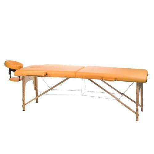 STół DO MASAżU I REHABILITACJI BS-523 POMARAńCZOWY