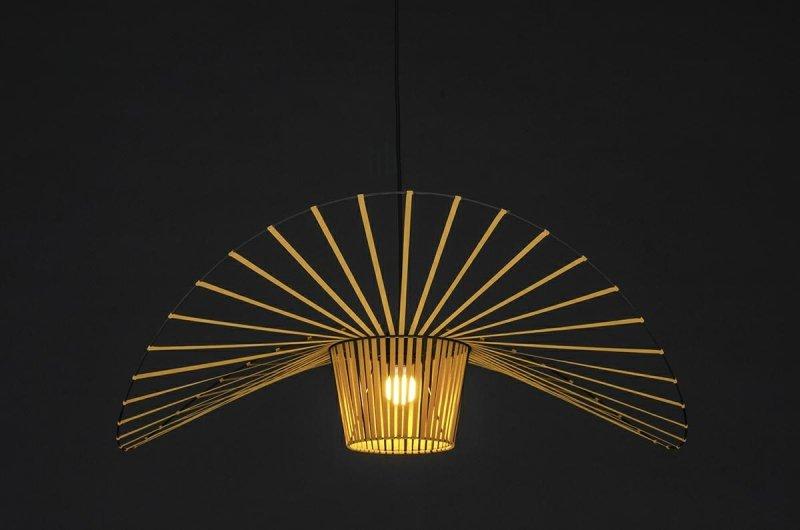 Lampa wisząca CAPELLO FI 100 złota