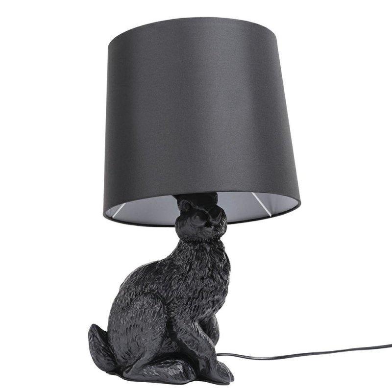 Lampa stołowa RABBIT - czarna