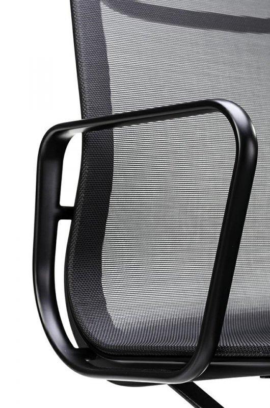 Fotel biurowy AERON PREMIUM czarny - siatka, aluminium