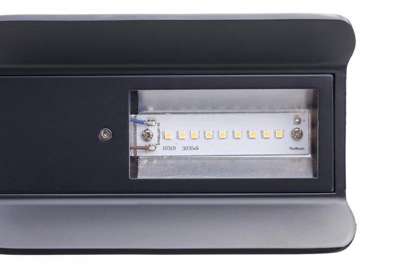 Lampa podłogowa PEAK ciemny szary - aluminium