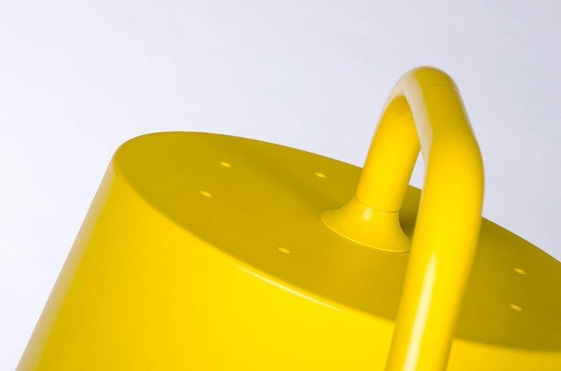 Lampa podłogowa FLAMING żółta