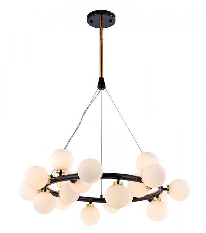 MOOSEE lampa wisząca COSMO S - czarna, złota