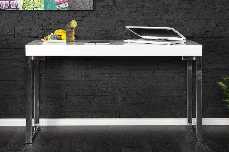 INVICTA biurko VERK 120x40 białe
