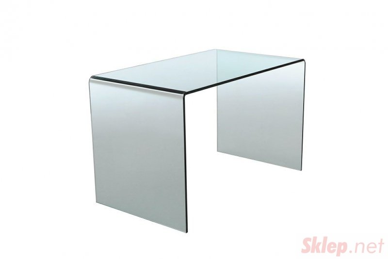 INVICTA biurko szklane FANTOME  transparentne - szkło 20 mm.