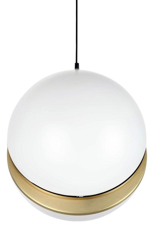 Lampa wisząca GLOBE 38 złota - LED, akryl, metal