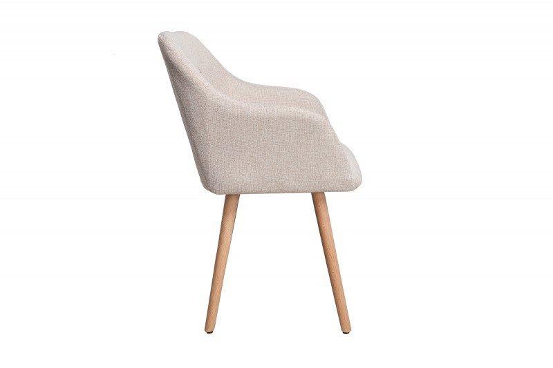 INVICTA krzesło SCANDINAVIA beżowe