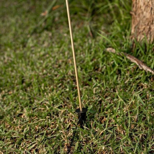 NEW GARDEN lampa ogrodowa BRUNA 80 3  SOLAR miedziana - LED