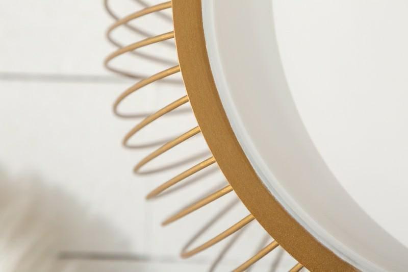 INVICTA stolik kawowy STORAGE II  - 41 cm, złoty, metal, aluminium