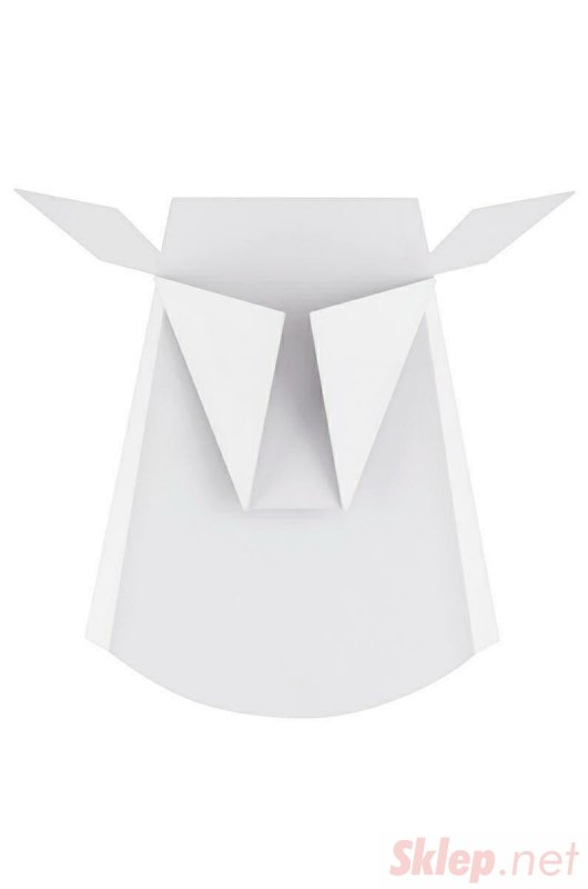 Kinkiet JELEŃ biały - LED, stal węglowa