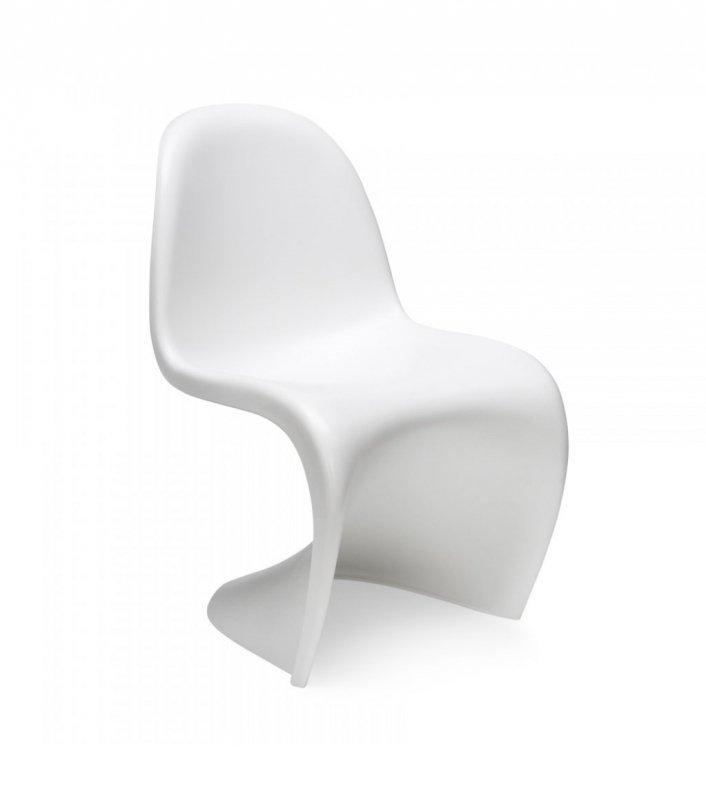 Krzesło dziecięce HOVER JUNIOR białe - polipropylen