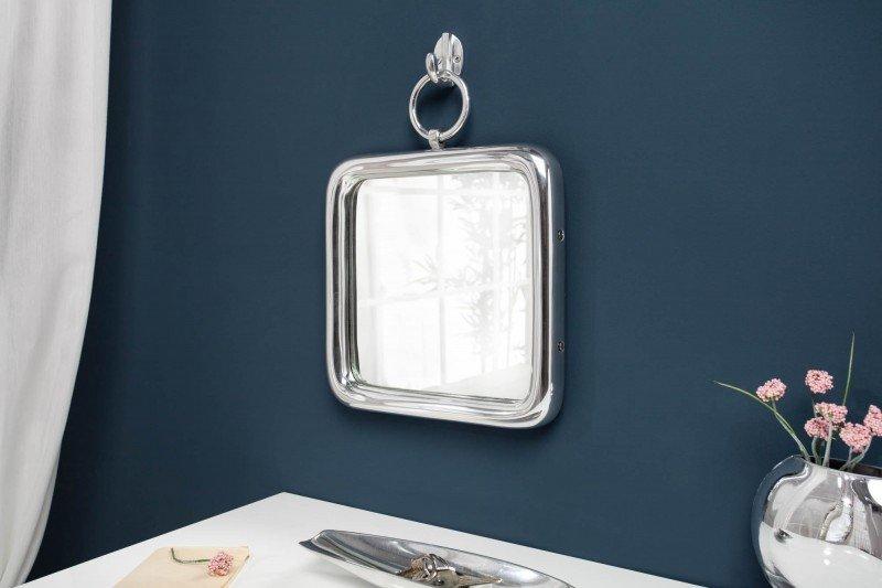 INVICTA lustro wiszące PORTRET 28 cm  srebrne