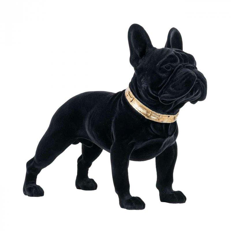 RICHMOND dekoracja DOG SPIKE czarny