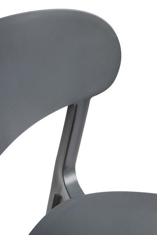Krzesło NIKON szare - polipropylen