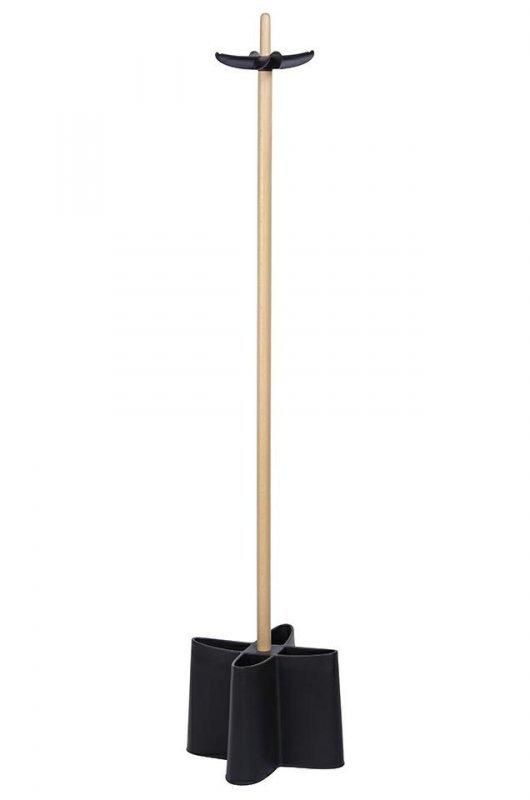 Wieszak GIRAFF czarny - stojak na parasole