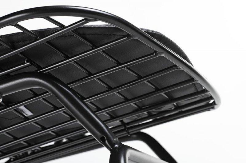 Hoker NET czarna poduszka - czarny metal