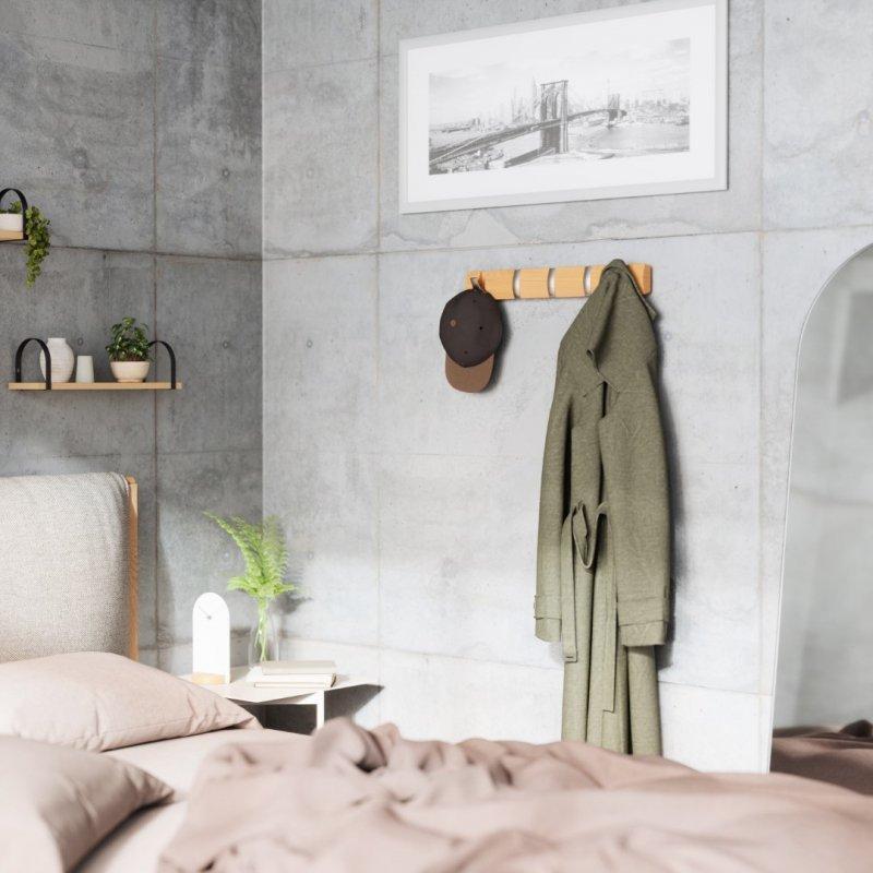 UMBRA wieszak na ubrania FLIP 5  - natural