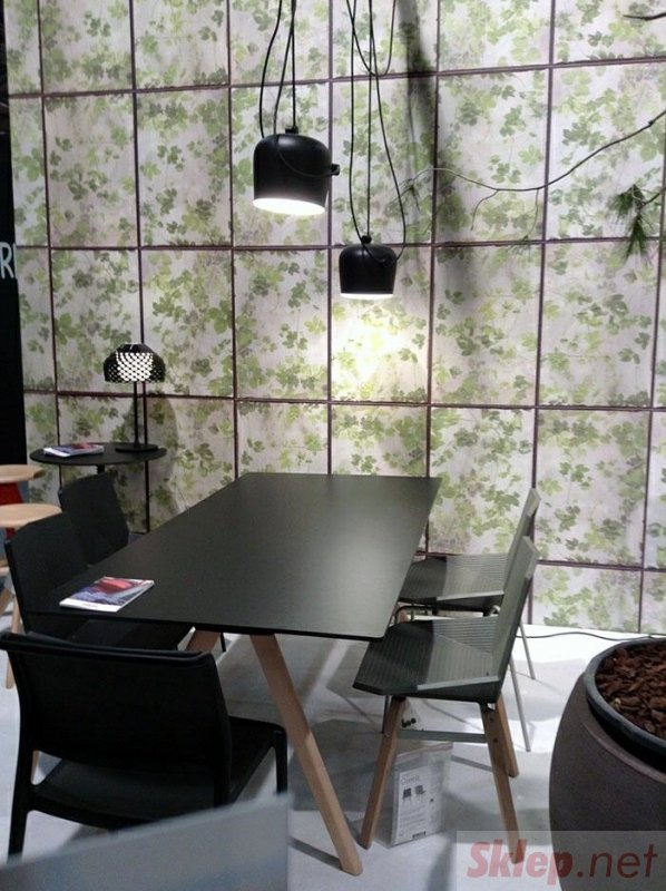 Lampa wisząca EYE 2 czarna - LED, aluminium